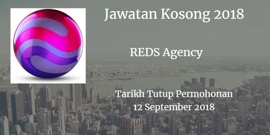 Jawatan Kosong REDS Agency 12 September 2018