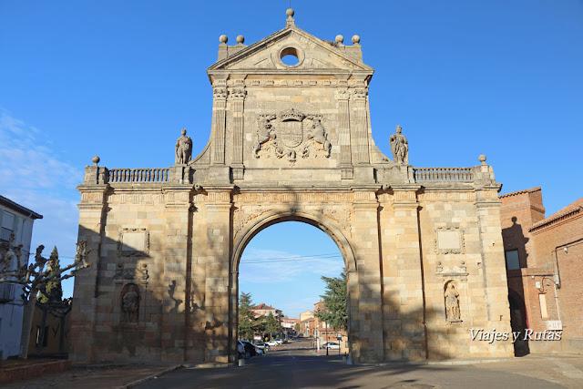 Puerta de San Benito, Monasterio de San Benito, Sahagún de Campos, León