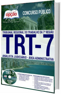 Apostila TRT 7ª região 2017 - Analista Judiciário