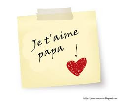 Sms d'amour je t'aime papa