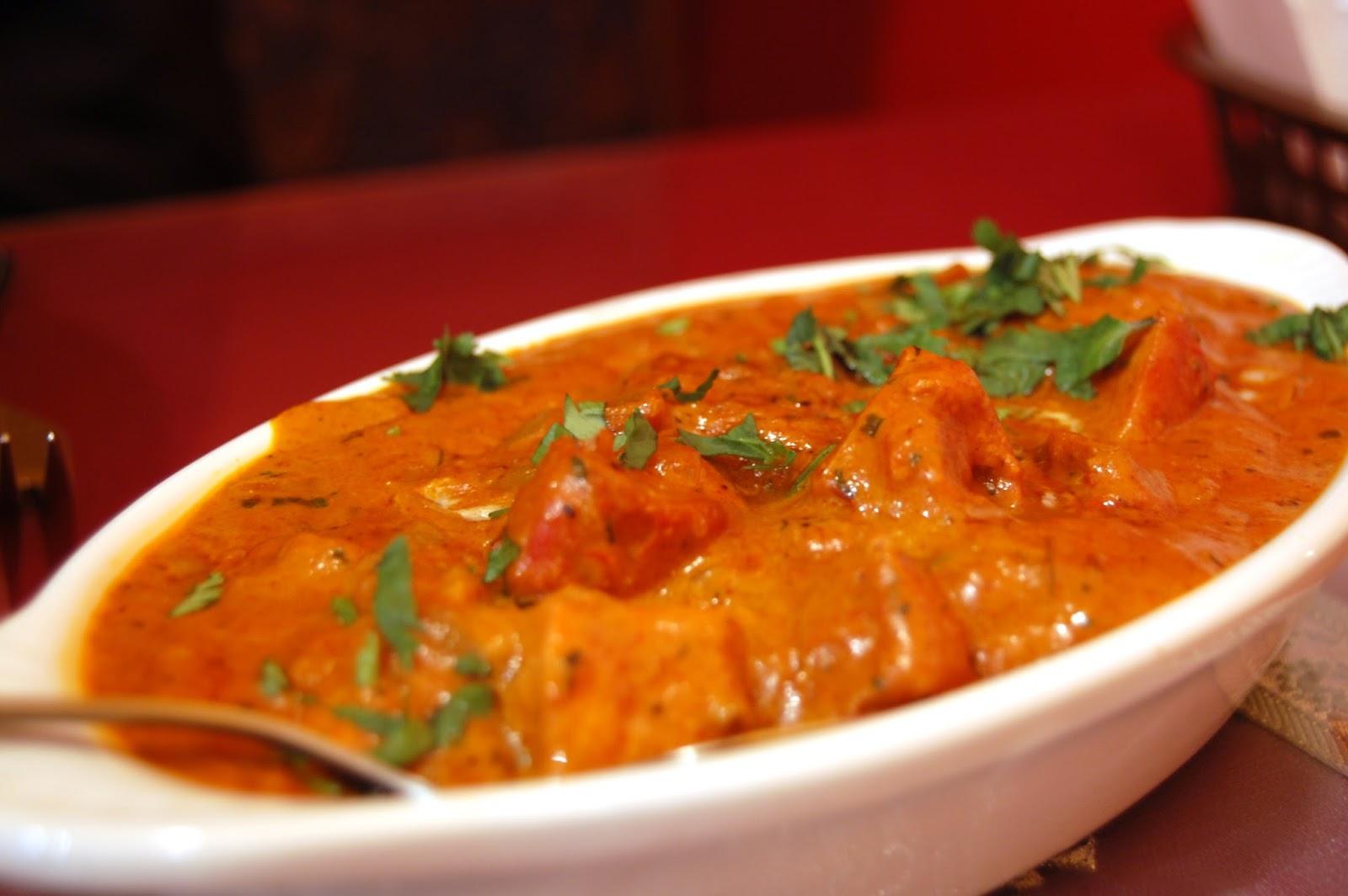 طريقة عمل الفراخ علي الطريقة الهندى بصوص الزبدة و الكريمة.