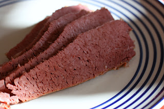 corned beef in crockpot slow cooker recipe photo