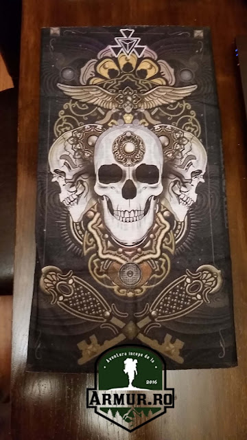 Bandana multifunctionala cap de mort skull