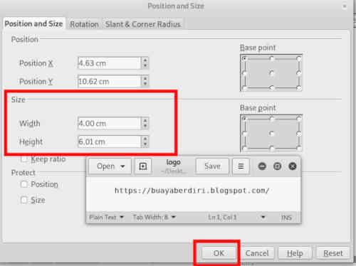Cara Mengubah Ukuran Foto Menjadi 3x4 2x3 Dan 4x6 Di Open Office Drawing