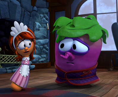 VeggieTales Beauty and the Beet sample
