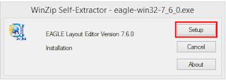 cara instal eagle pcb