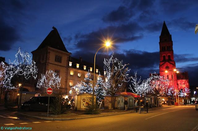 Route des Crétes, Parc natural Ballons des Vosges, Alsàcia, França, Mercats de Nadal, senderisme