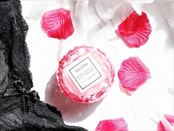 Rose Petal Ice Cream de Voluspa