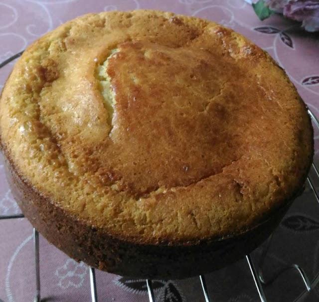 Cara Membuat Cake Pisang