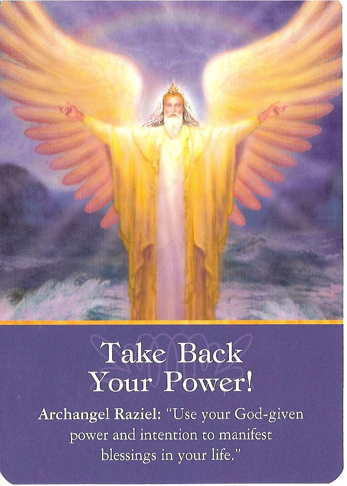Archangel Power Tarot Cards Perspective: Indigo Readings Blog: Todays Reading