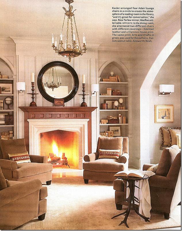 New Home Interior Design: Suzanne Kasler Inspired Interiors