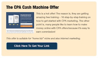 CPA Cash Business and marketing