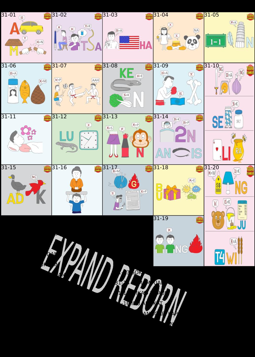 Expand Reborn Game Android Tebak Gambar Kunci Jawaban Part 3