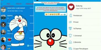 Kumpulan Tema Whatsapp Doraemon Apk Terbaru dan Cara Memasangnya