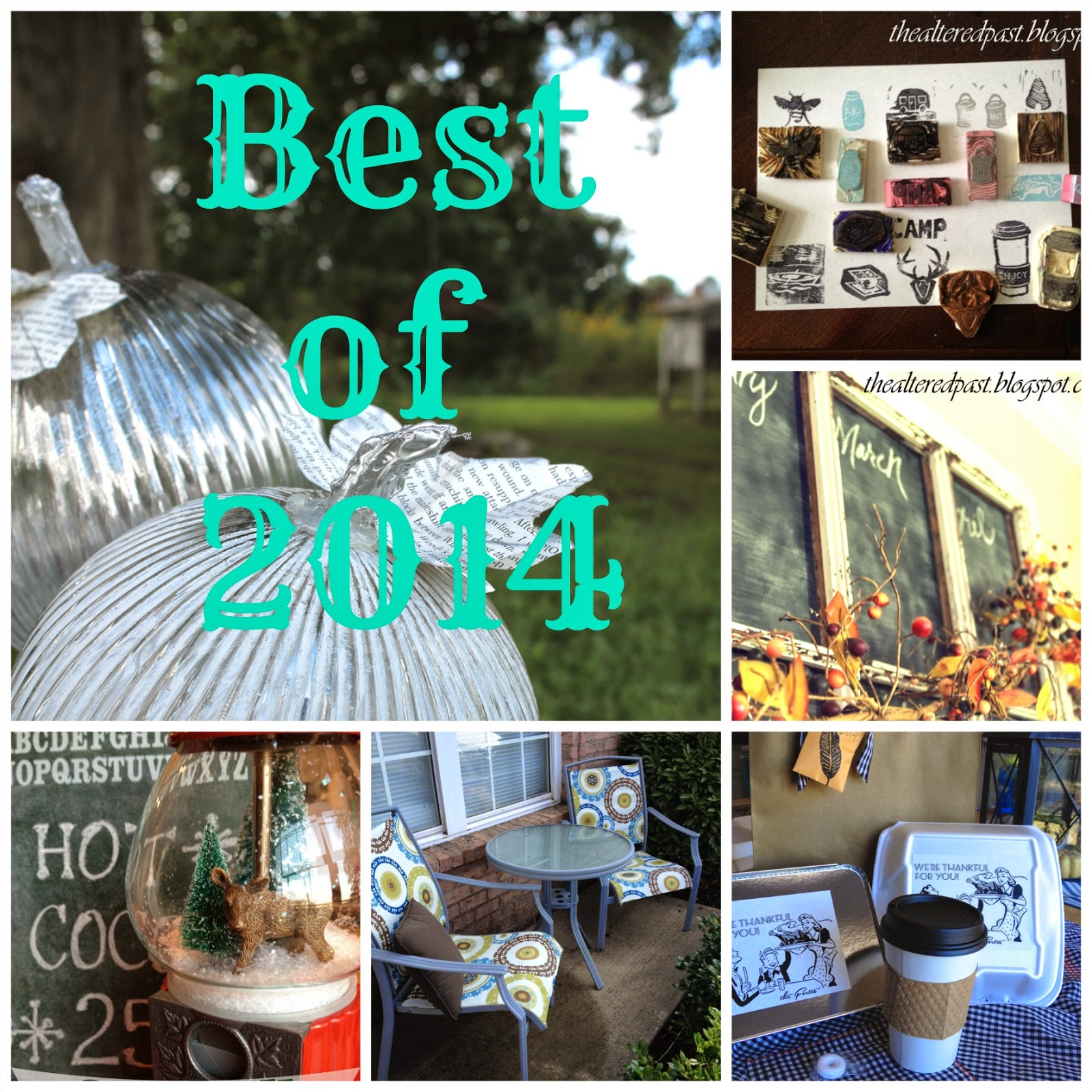 best of 2014 projects, the altered past blog