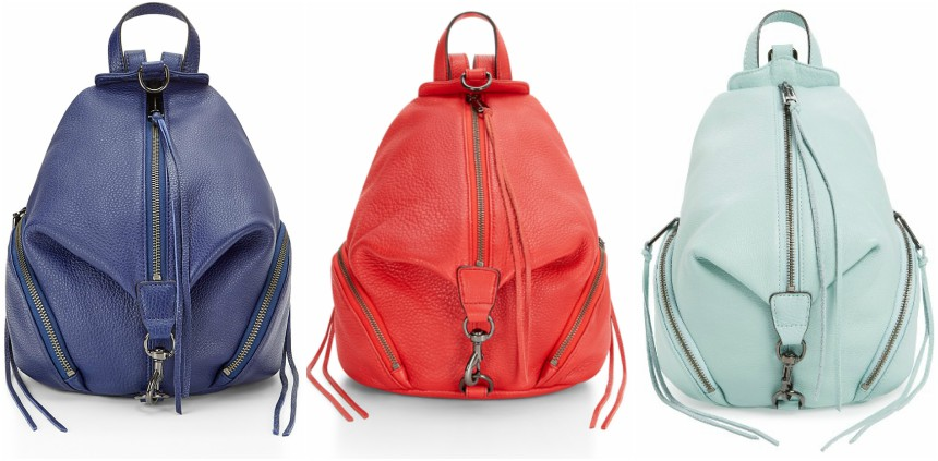 Rebecca Minkoff: Medium Julian Backpacks only $123 (reg $245) + Free Shipping!