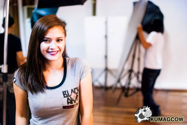 Bianca Umali for BUM Black Army Collection 2016
