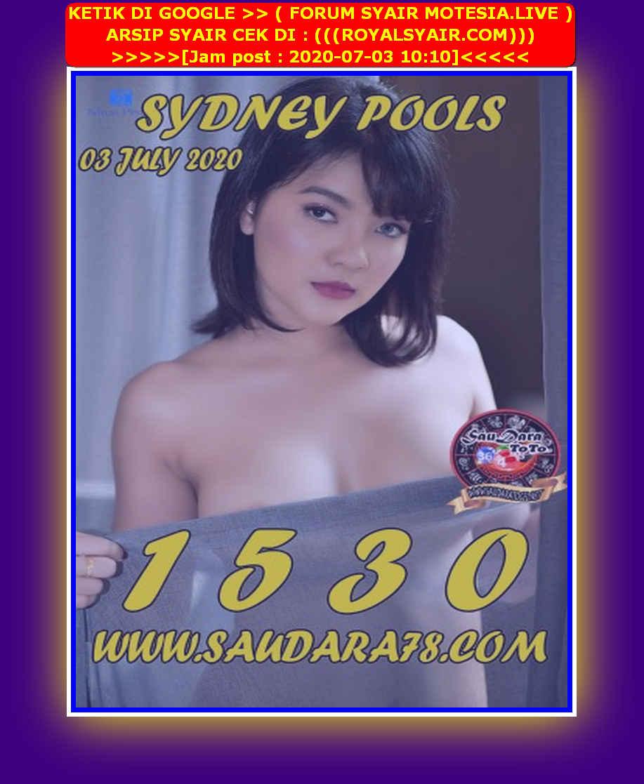 Kode syair Sydney Jumat 3 Juli 2020 179