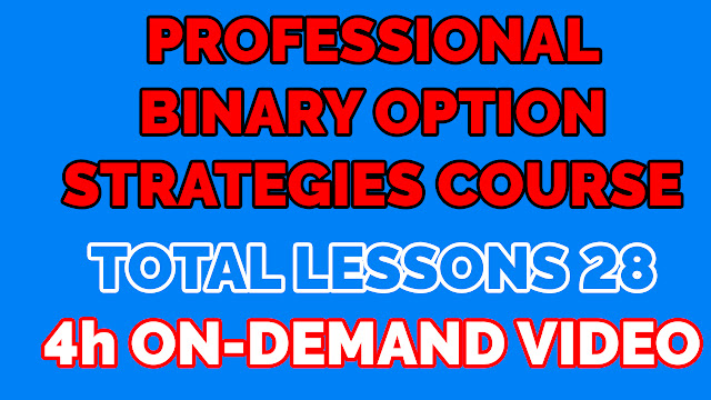 Professional Binary Option Strategies Course