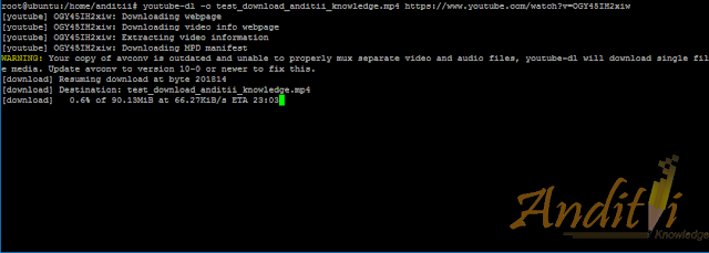 Cara Mengatasi Error pada Youtube-dl-anditii.web.id
