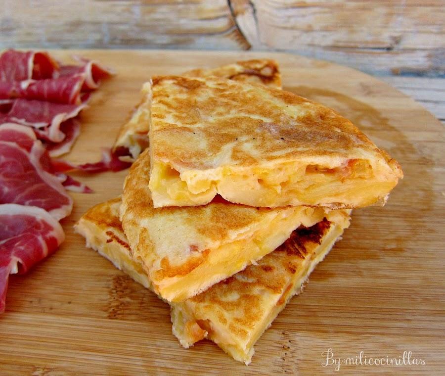 Tortilla-patatas-española