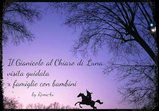 A spasso con i vostri bambini sotto le stelle alla scoperta del Gianicolo - Visita guidata per bambini Roma