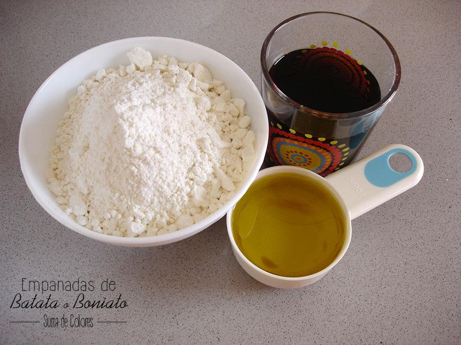 Empanadas de Batata_ Ingredientes Masa