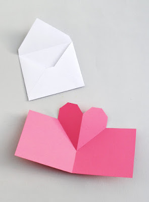 Heart shaped love letter and pop-up cards-MINIECO