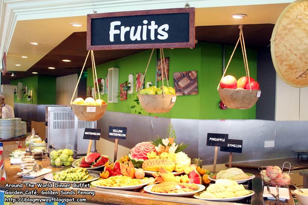 Around The World Dinner Buffet @ Garden Cafe, Golden Sands Penang ...