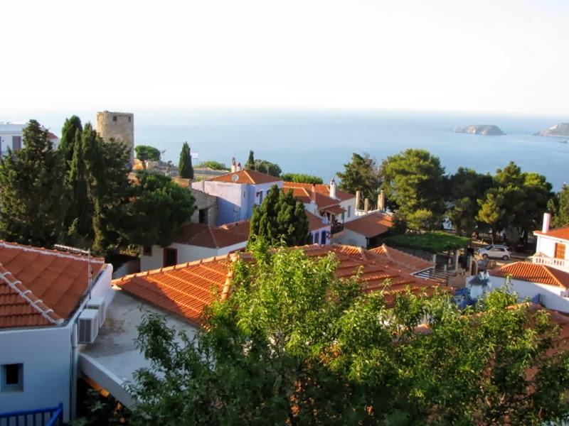 Il mare visto da Palià Alonissos
