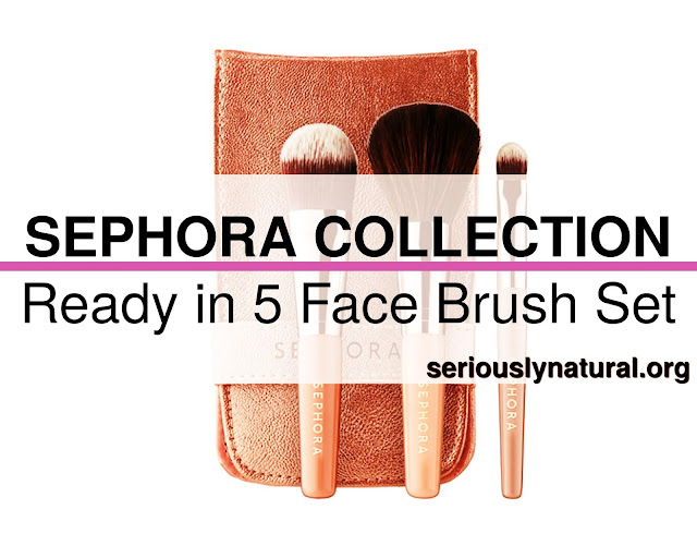 Click here to buySEPHORA COLLECTION Ready in 5 Face Brush Set, a wonderful brush set I love from Sephora