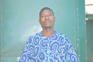 Photo: Man arrested in Abuja for subjecting his 2 year- old son to untold physical torture and psychological trauma