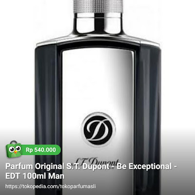 st dupont be exceptional edt 100ml man
