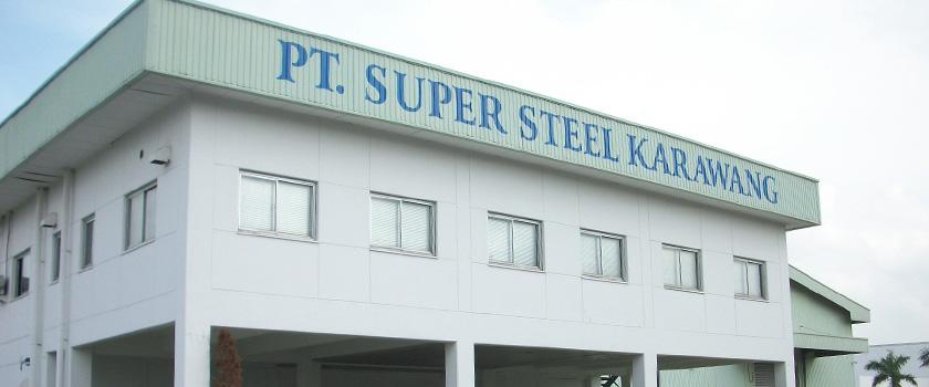 Loker Terbaru D3 Staff Quality Control PT. Super Steel Karawang (PT.SSK)