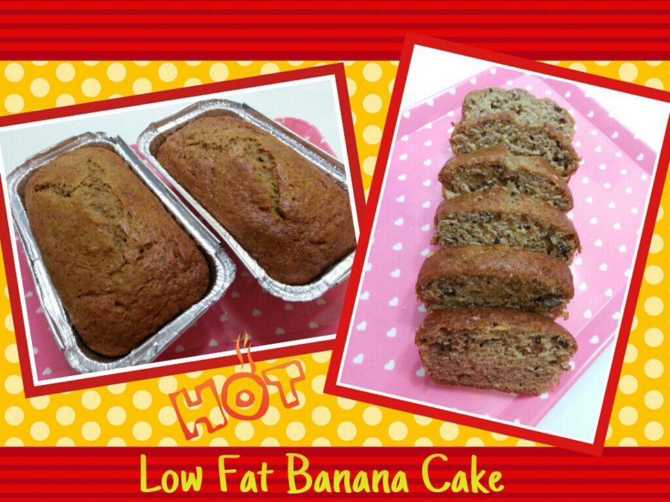 Low Fat Celebration Cake Recipes: BeautyMe Love Recipes: Low Fat Banana Cake