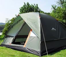 Tenda Kemah Tahan Cuaca Lapis Ganda untuk Outdoor <p>Rp702.000</p> <code>WS-006</code>