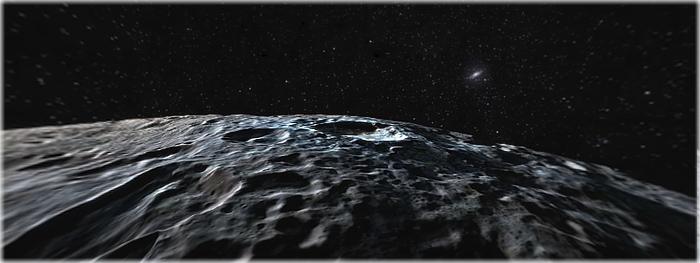 vídeo espetacular de sobrevoo em Ceres
