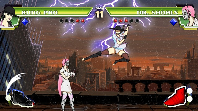 Divekick PC Games Gameplay
