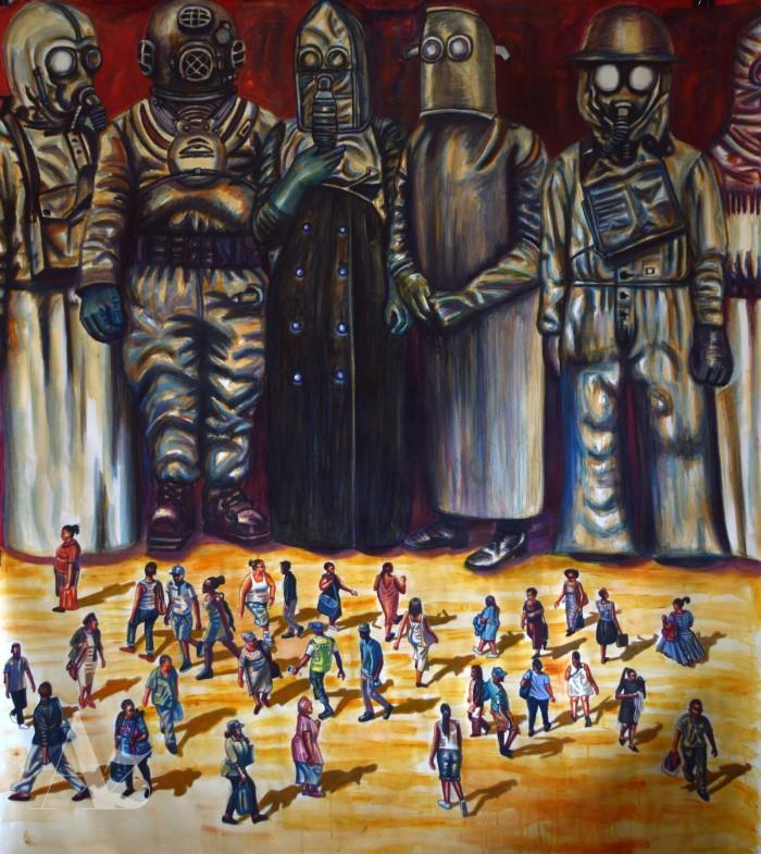 Южноафриканский художник.