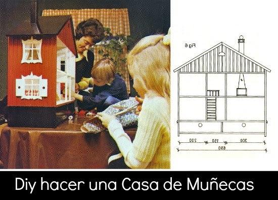 casita muñecas, casita cartón, muñecas, dolls