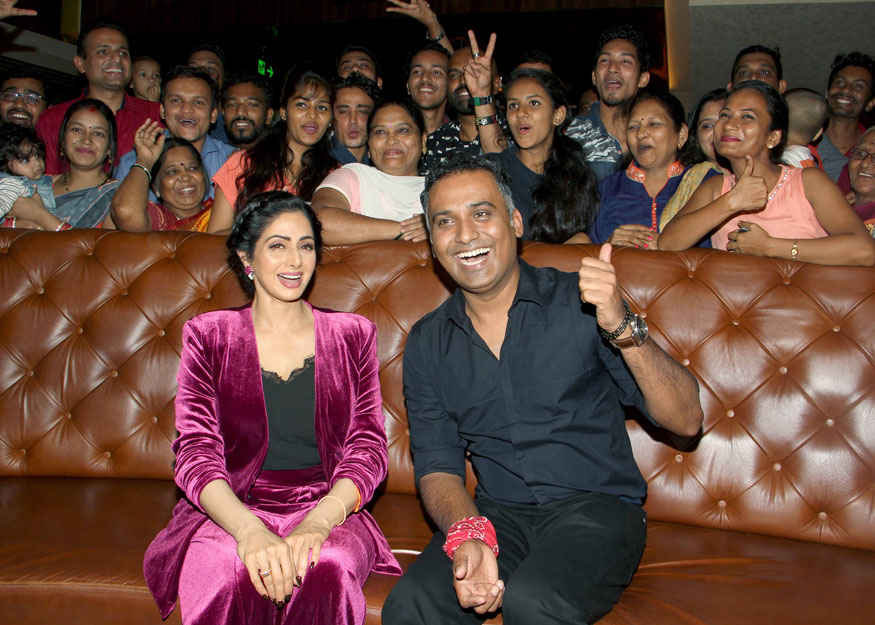 Sridevi Attend Special Screening of 'Mom' Movie at PVR - ICON Infiniti