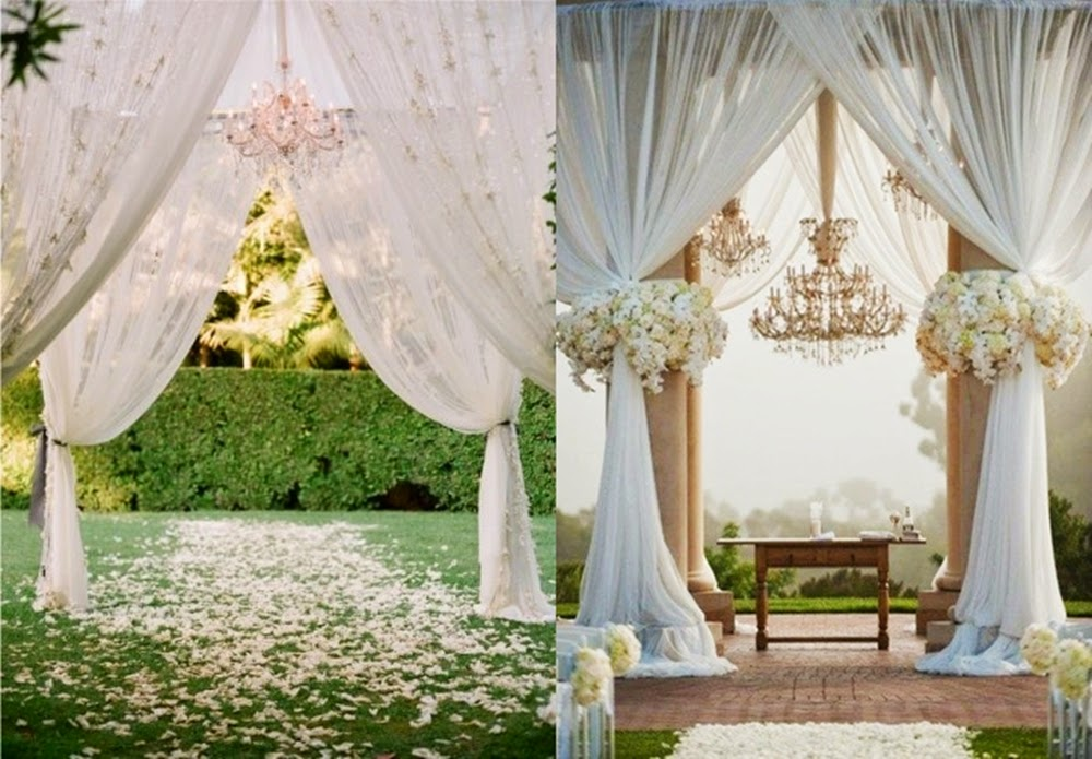 Beautiful ideas for holy matrimony steves decor since an outdoor could be exploring easily you can put your effort and creativity to build your dream aisle junglespirit Images