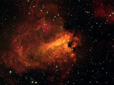 """M17, nebulosa """"Omega"""" a Sagitari"""