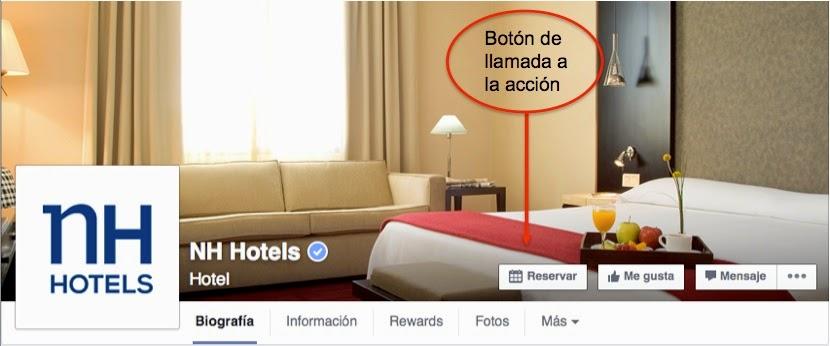 NH Hoteles Facebook