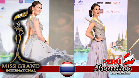 Presentación de Perú en Miss Grand International 2015 (Video)