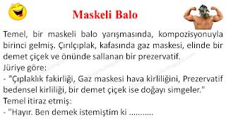 Maskeli Balo - Temel Fıkraları - Komikler Burada