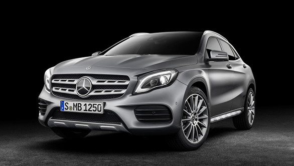 mercedes benz gla facelift