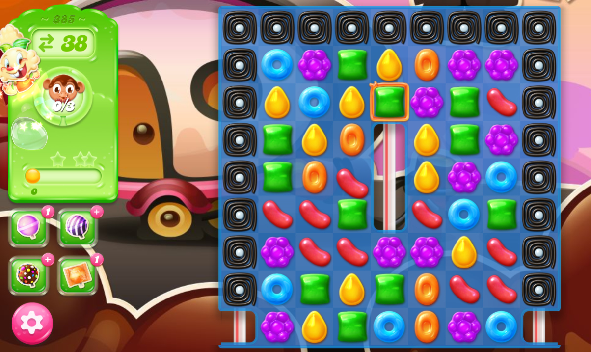 Candy Crush Jelly Saga 385