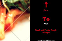 Hide People, Pages & Lists You Follow on Facebook