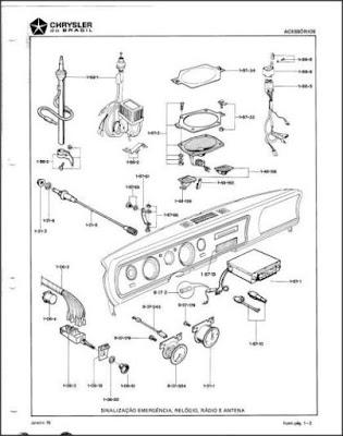 Catálogo de peças Dodge Dart